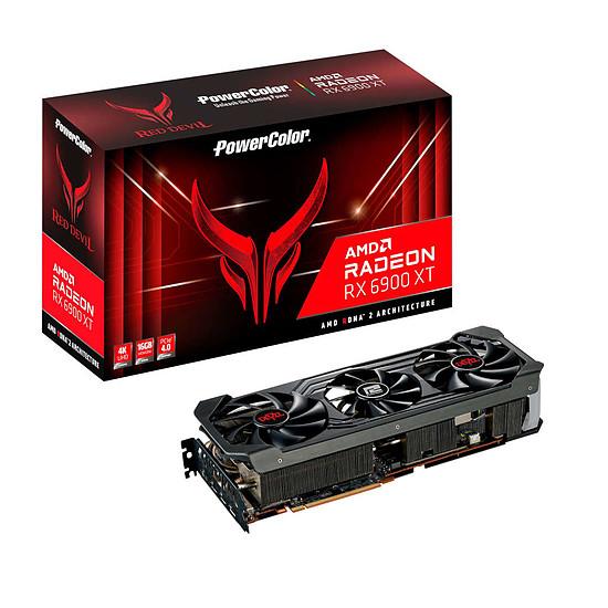 Carte graphique PowerColor Red Devil Radeon 6900 XT