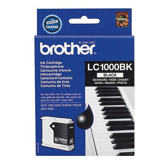 Cartouche d'encre Brother LC1000BK Noir