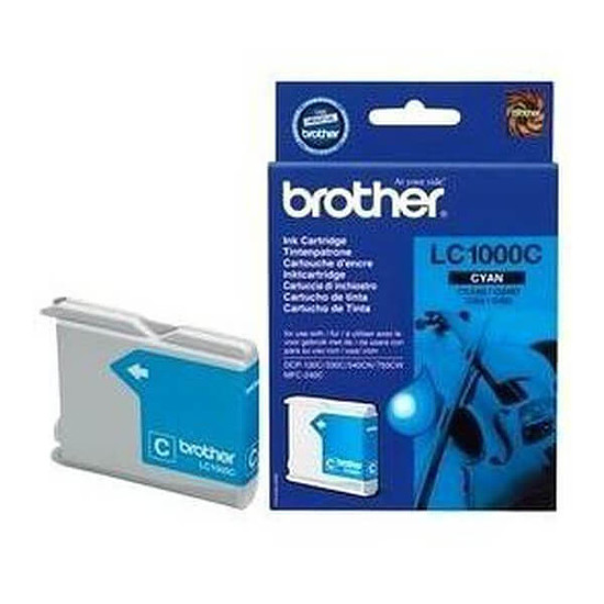 Cartouche d'encre Brother LC1000C Cyan
