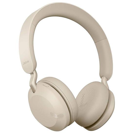 Casque Audio Jabra Elite 45h Titanium Or/Beige
