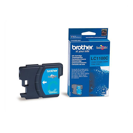 Cartouche d'encre Brother LC1100C Cyan