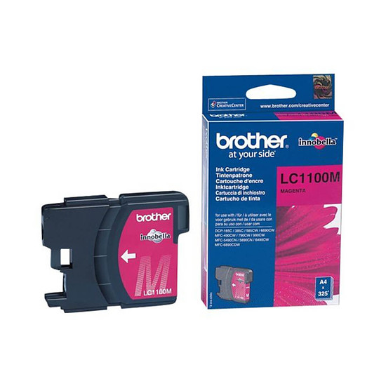 Cartouche d'encre Brother LC1100M Magenta