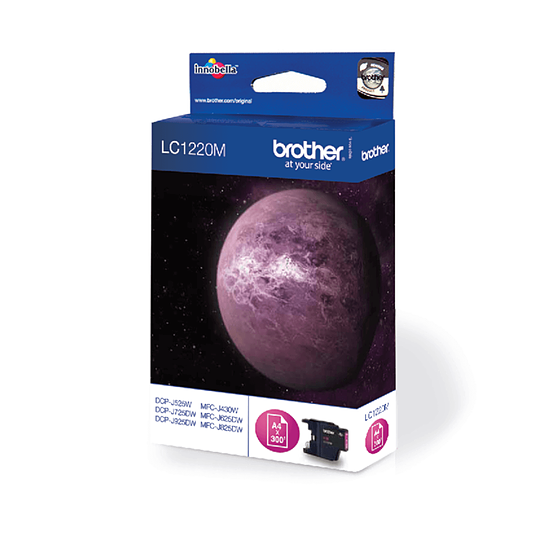 Cartouche d'encre Brother LC1220M Magenta