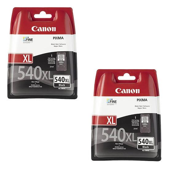 Cartouche d'encre Canon PG-540 XL x 2
