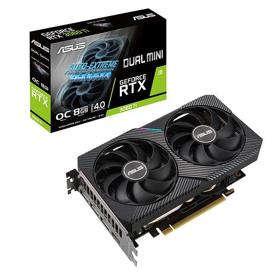 Carte graphique Asus GeForce RTX 3060 Ti DUAL Mini OC
