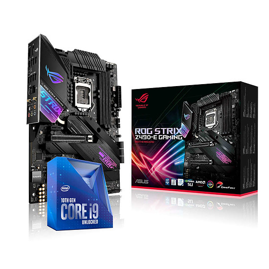 Kit upgrade PC Intel Core i9-10850K + ASUS STRIX Z490-E