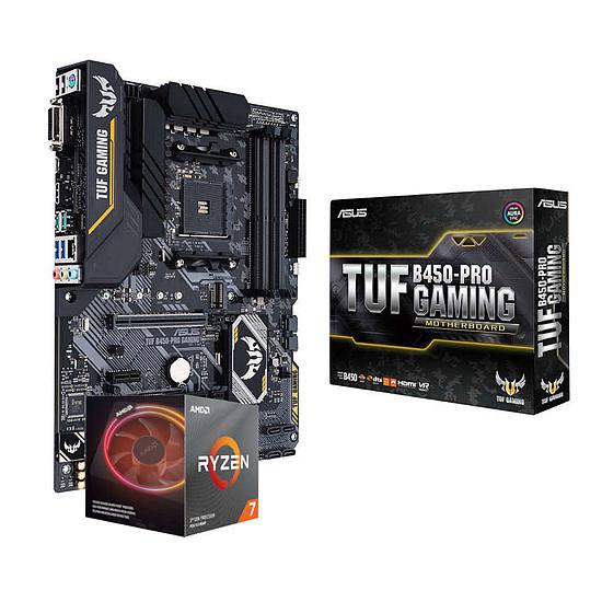 Kit upgrade PC AMD Ryzen 7 3700X + Asus TUF B450-PRO GAMING