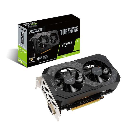 Carte graphique Asus TUF GeForce GTX 1650 4G D6 P Gaming