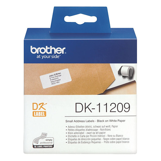 Papier imprimante Brother DK-11209