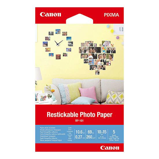 Papier imprimante Canon RP-101 Autocollant Repositionnable