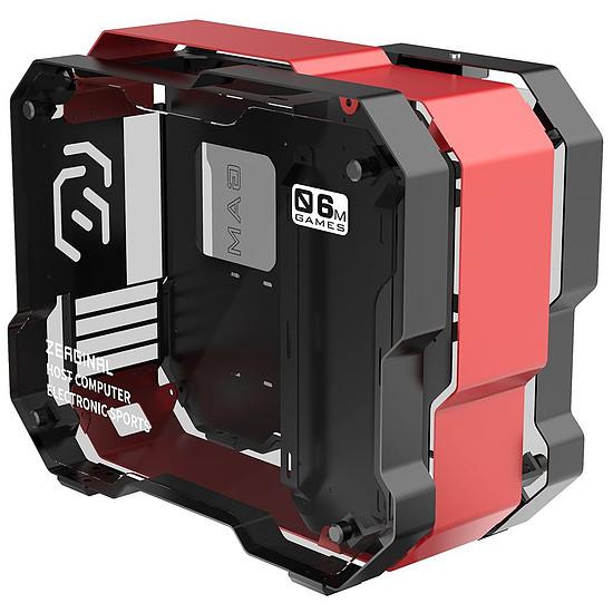 Boîtier PC Zeaginal ZC-06M - Rouge/Noir