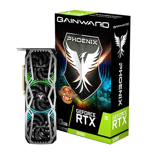 Carte graphique Gainward GeForce RTX 3080 Phoenix GS