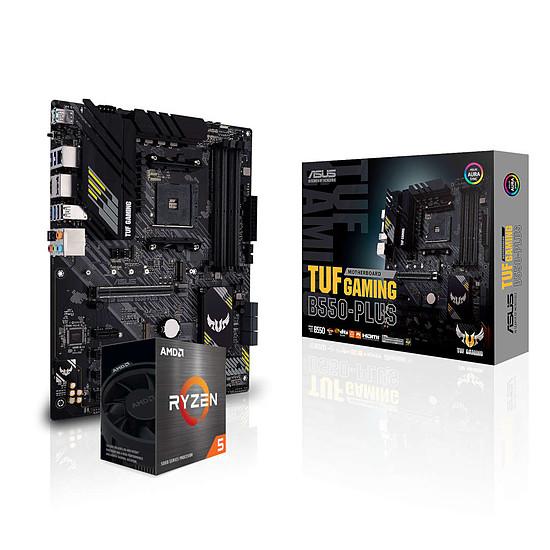 Kit upgrade PC AMD Ryzen 5 5600X + Asus TUF GAMING B550-PLUS
