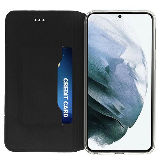 Coque et housse Akashi Etui Folio (noir) - Samsung Galaxy S21