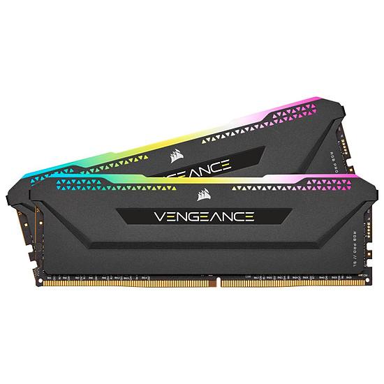 Mémoire Corsair Vengeance RGB Pro SL - 2 x 32 Go (64 Go) - DDR4 4000 MHz - CL18