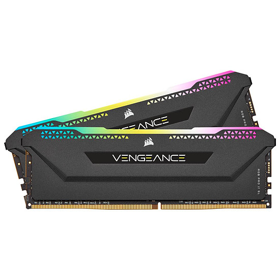 Mémoire Corsair Vengeance RGB Pro SL - 2 x 8 Go (16 Go) - DDR4 3200 MHz - CL16