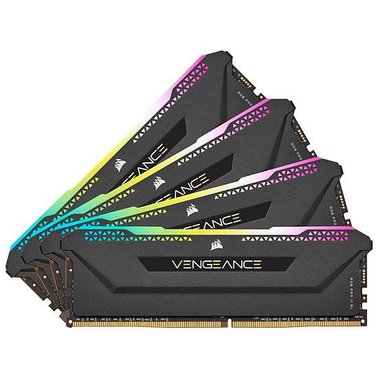 Mémoire Corsair Vengeance RGB Pro SL - 4 x 32 Go (128 Go) - DDR4 3200 MHz - CL16