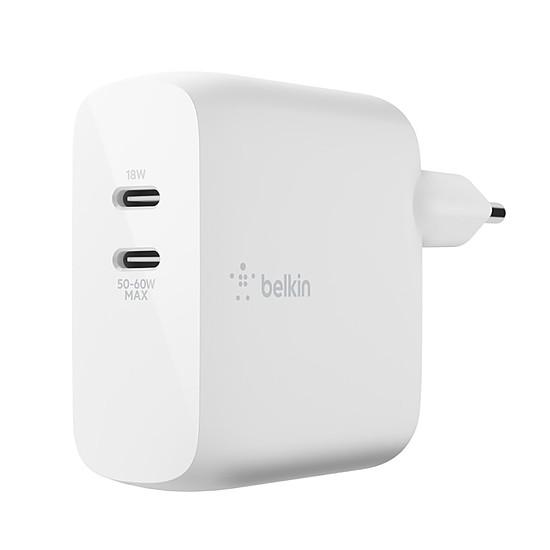 Chargeur Belkin Chargeur Secteur pour Macbook et PC en USB-C ultra compact - 60 W