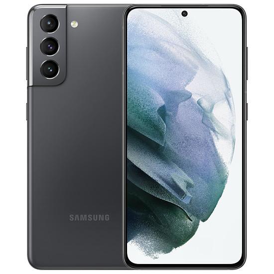 Smartphone et téléphone mobile Samsung Galaxy S21 5G (Gris) - 256 Go - 8 Go