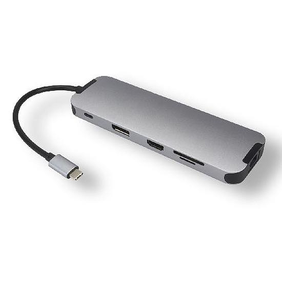 USB Générique Station d'accueil USB-C multi-ports 10 en 1 avec HDMI/DisplayPort + Power Delivery 60W