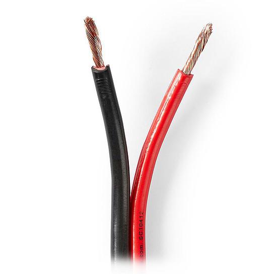 Câble d'enceintes Nedis Câble Haut-Parleur 2 x 2.5 mm² - 50 mètres