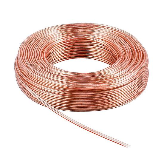Câble d'enceintes Câble Haut-Parleur 2.5 mm² en cuivre OFC - rouleau de 25 mètres