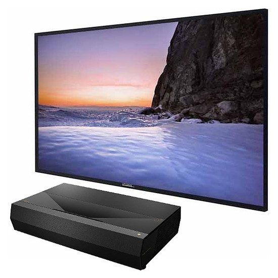 Vidéoprojecteur Optoma UHZ65UST - 3500 Lumens + Lumene Movie Palace UHD 4K 240 C Extra Bright