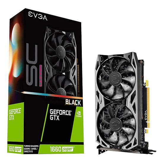Carte graphique EVGA GeForce GTX 1660 Super SC Ultra Black