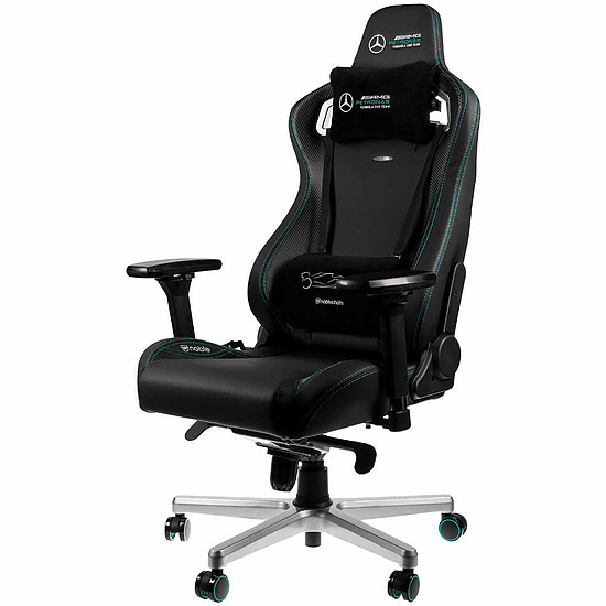 Fauteuil / Siège Gamer Noblechairs EPIC - Mercedes AMG Petronas Formula One Team 2021 Edition