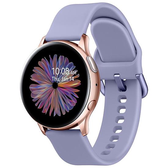 Montre connectée Samsung Galaxy Watch Active 2 (Or Rose Aluminium) - GPS - 40 mm