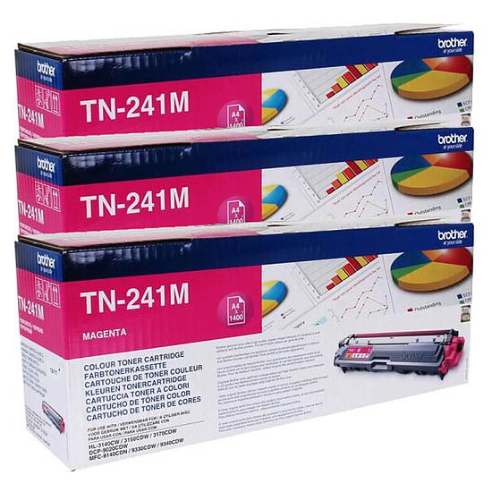 Toner Brother TN-241M x 3 Magenta