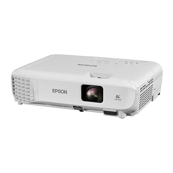 Vidéoprojecteur EPSON EB E-01 Blanc - Tri-LCD XGA - 3300 Lumens
