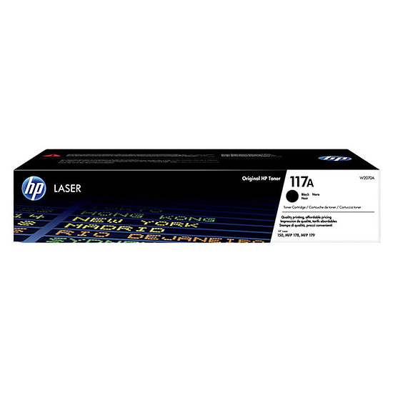 Toner HP Laser 117A W2070A