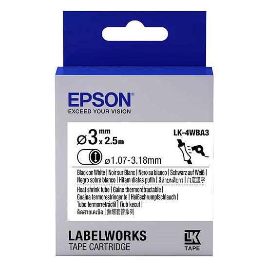 Papier imprimante Epson LK-4WBA3 noir, blanc