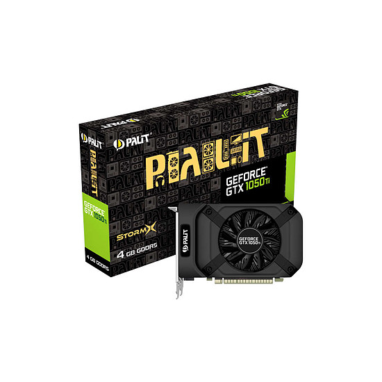 Carte graphique Palit GeForce GTX 1050 Ti StormX