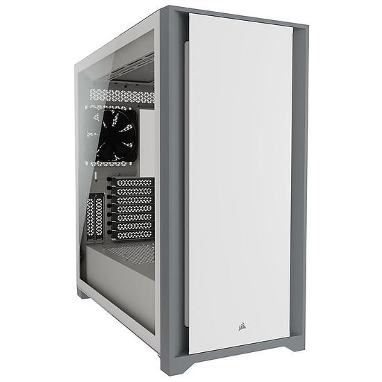 Boîtier PC Corsair iCUE 5000D - Blanc