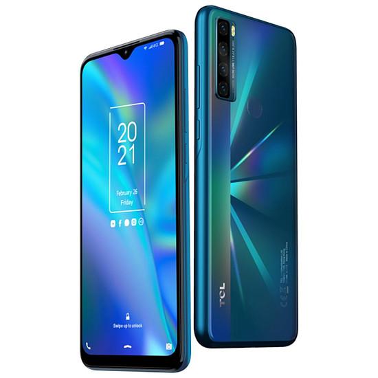 Smartphone et téléphone mobile TCL 20 SE (Vert) - 64 Go - 4 Go