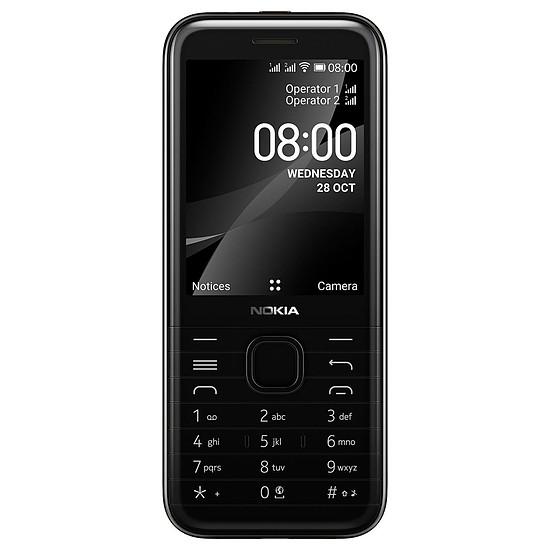 Smartphone et téléphone mobile Nokia 8000 (Noir) - Dual SIM