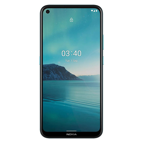 Smartphone et téléphone mobile Nokia 3.4 (bleu) - 64 Go