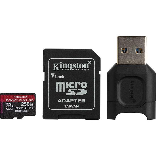 Carte mémoire Kingston Canvas React Plus SDCR2/256GB