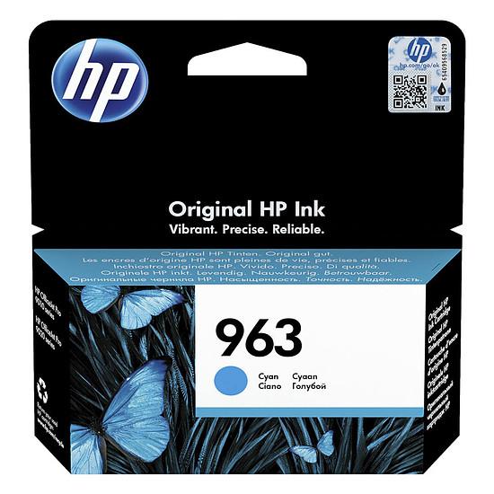 Cartouche d'encre HP 963 Cyan 3JA23AE