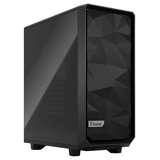 Boîtier PC Fractal Design Meshify 2 Compact TG Dark - Noir