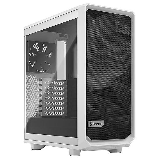 Boîtier PC Fractal Design Meshify 2 Compact TG Light - Blanc