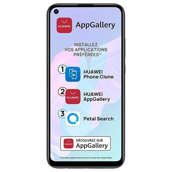Smartphone et téléphone mobile Huawei P40 Lite E NFC Bleu