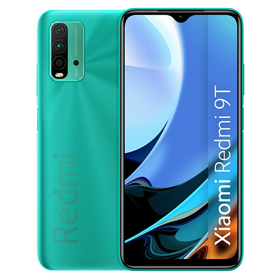 Smartphone et téléphone mobile Xiaomi Redmi 9T (vert) - 64 Go