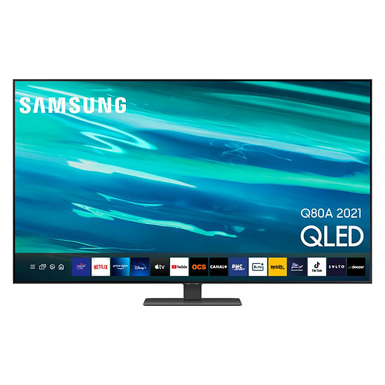 TV Samsung QE50Q80 A - TV QLED 4K UHD HDR - 125 cm