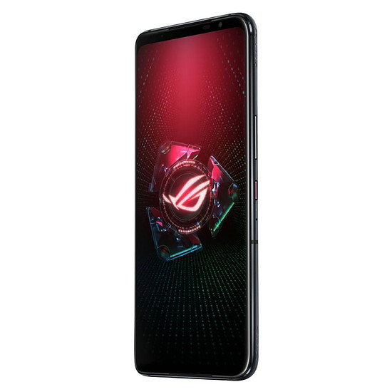 Smartphone et téléphone mobile ASUS ROG Phone 5 (noir) - 256 Go - 16 Go + Coque de protection ROG Aero