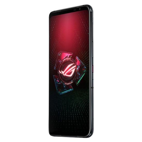 Smartphone et téléphone mobile ASUS ROG Phone 5 (noir) - 128 Go - 8 Go + Coque de protection ROG Aero