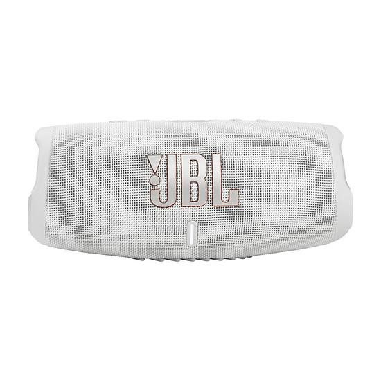 Enceinte sans fil JBL Charge 5 Blanc - Enceinte portable