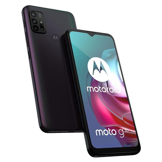 Smartphone et téléphone mobile Motorola Moto G30 Perle Foncée